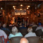 Linedrive drew the largest crowd ever at Rob's Barn