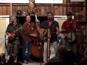 Reno and Harrell play at the barn 7-25-15