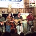 Reno and Harrell play at the barn 7-25-15
