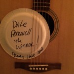 Congratulations to Dale Penewell for wining the Eastman Acoustic Guitar. 9/19/15